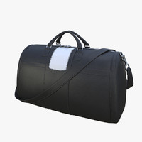 realistic black leather bag max
