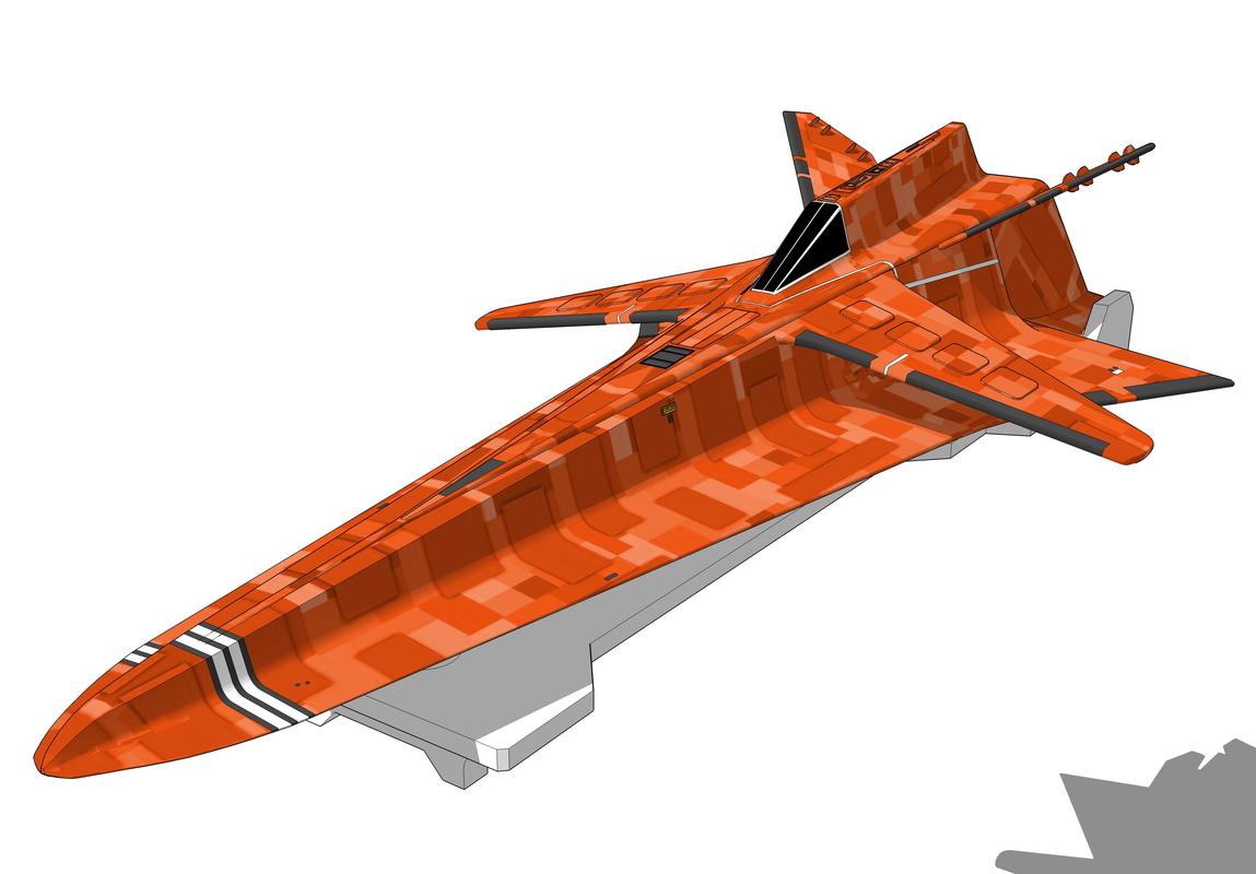 glider eagle transporter obj