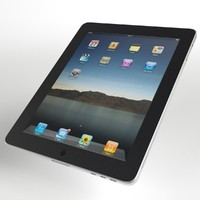 3d model tablet electronics
