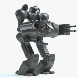 personal mech 3ds