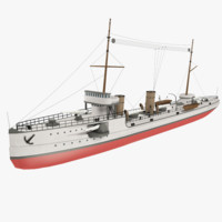 background steamship 3d 3ds