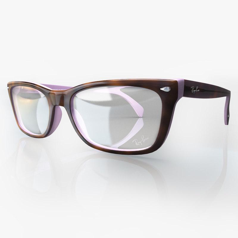 3d model eyeglasses ban