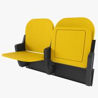 3d stadium seat