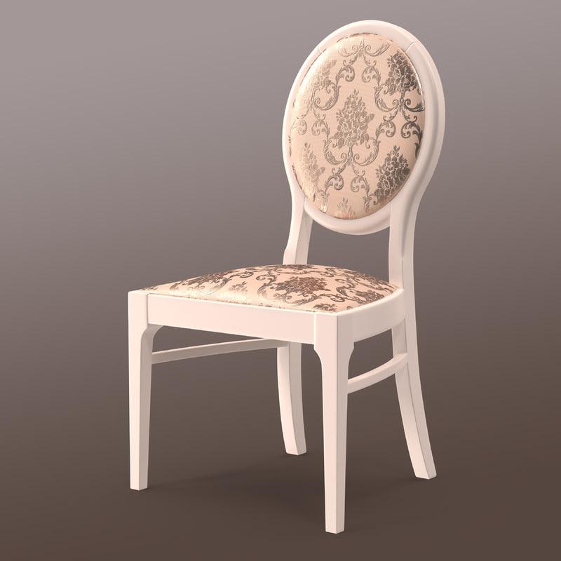 neo classic wood white obj