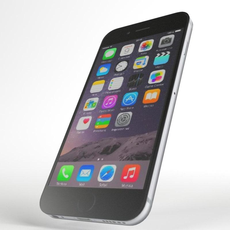 3d model of iphone 6