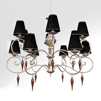 3d chandelier jago galassia ncs041 model