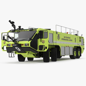 3d oshkosh striker 4500 aircraft