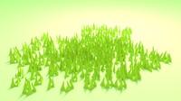 3d model blender grass