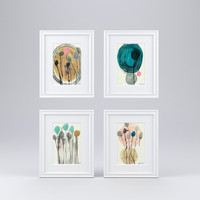 Artwork - Picture Frames Set of 4