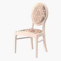 Neo Classic Wood White Chair