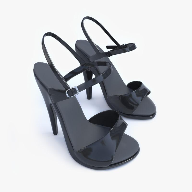 heels 3d model