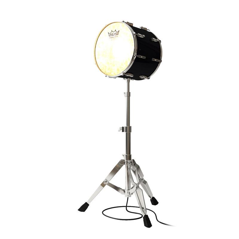 floor lamp drum 3d model