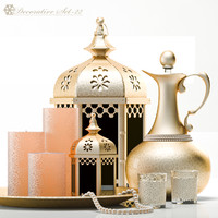 obj decorative set 22