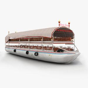 river boat 3d max