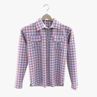 3d shirt model