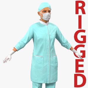 c4d female surgeon mediterranean blood