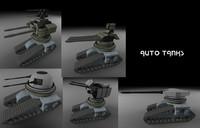 autonomous drone tanks 3d 3ds