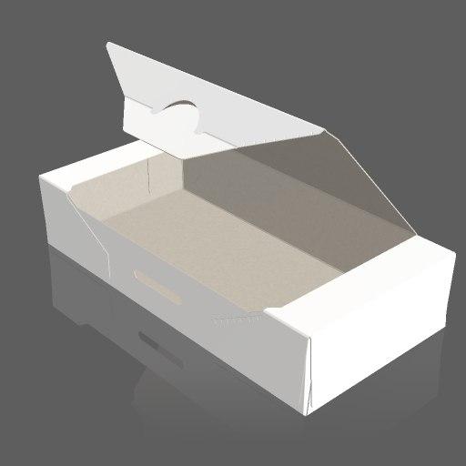packaging coffee capsule 3d model
