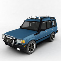 max jeep discovery 2 low-poly