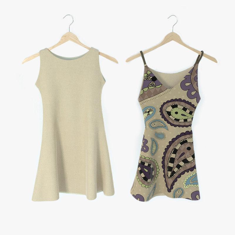 dresses 3d model