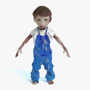 child zombie 3ds