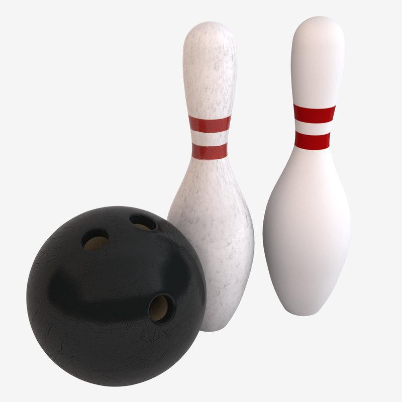 max bowling ball pins