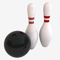 max bowling ball pins