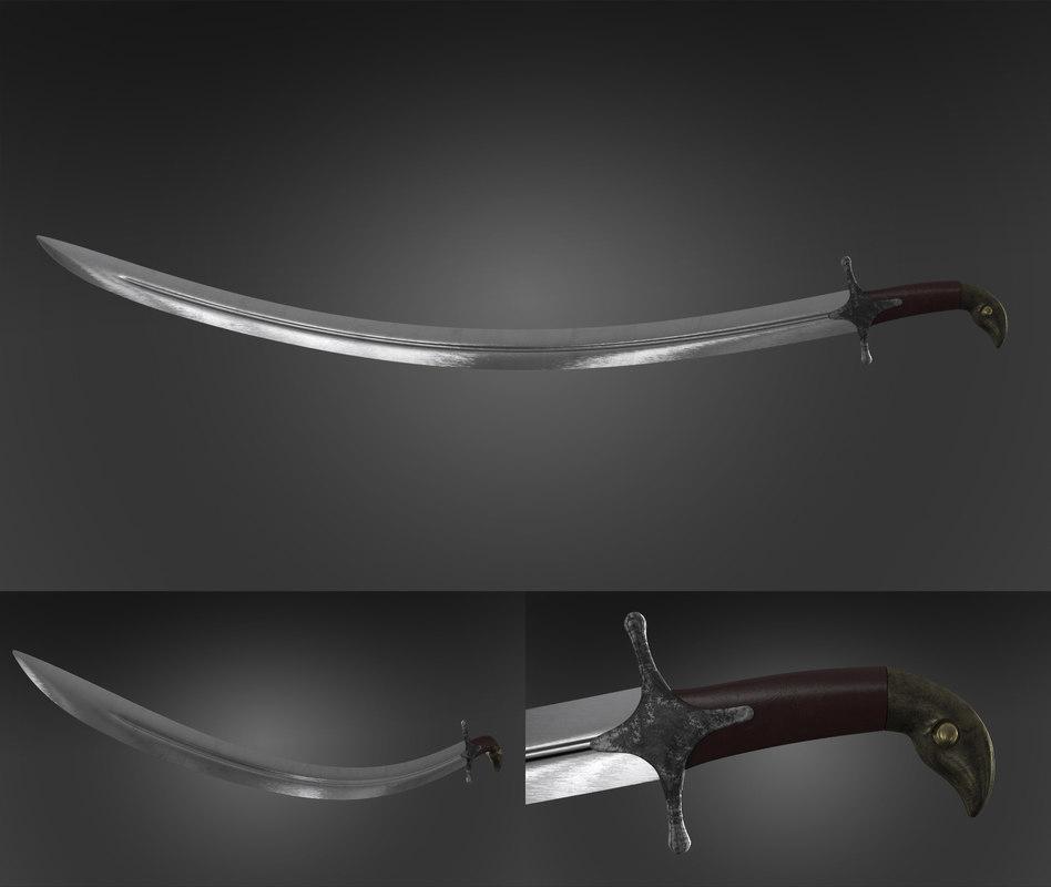 3d sword realistic