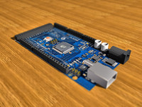circuit board arduino mega max