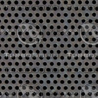 Perforated Metal Texture Rusty