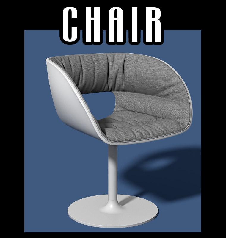 chair interiors obj