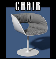 chair interiors 3d fbx