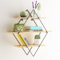 Diamond shelf set