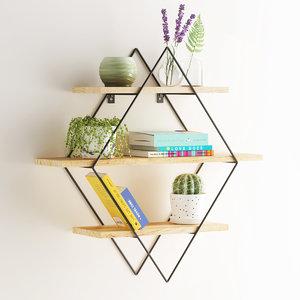 diamond shelf wood max