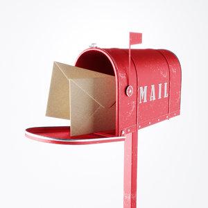 letter box obj