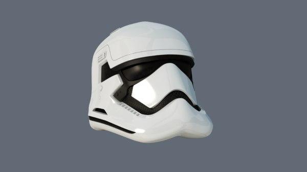 3d model star wars stormtrooper order