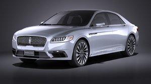 continental 2017 3d model