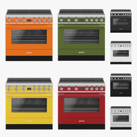 smeg induction hob 3d max