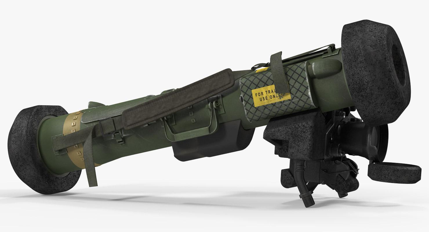 3d model fgm 148 javelin launch