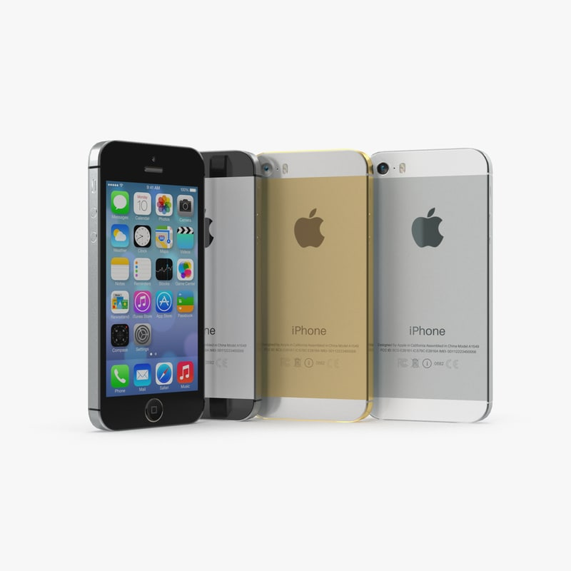 ready iphone 5s games 3d model