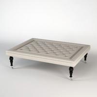 3d eichholtz footstool grace