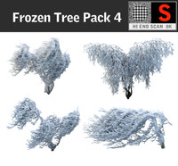 3d frozen tree pack 4