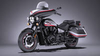 yamaha v star 3d model