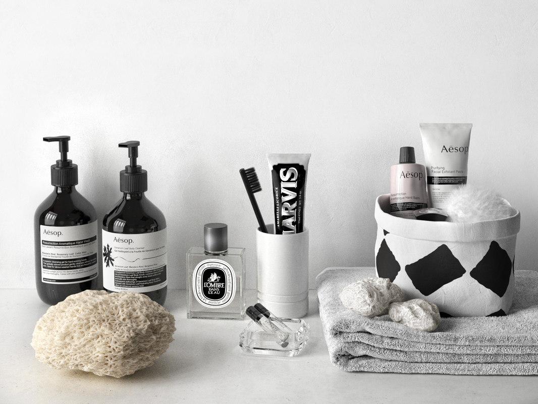 max aesop marvis bathroom composition