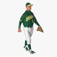 max baseball player rigged athletics