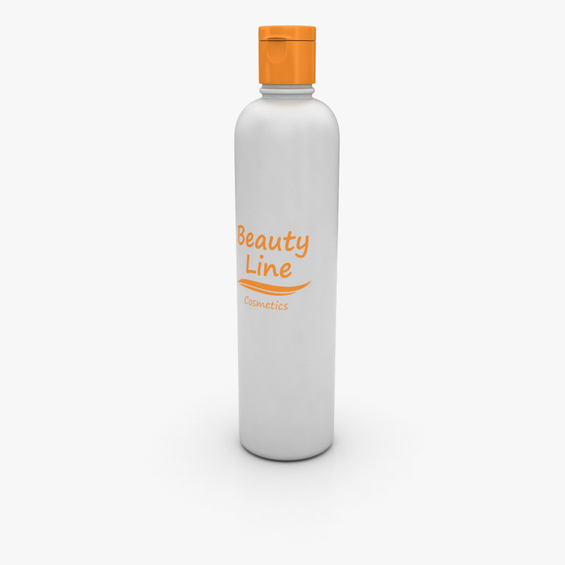 cosmetic bottle 3d model