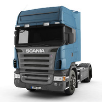 scania r580 3d max