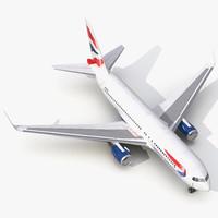 3ds boeing 767-200er british airways