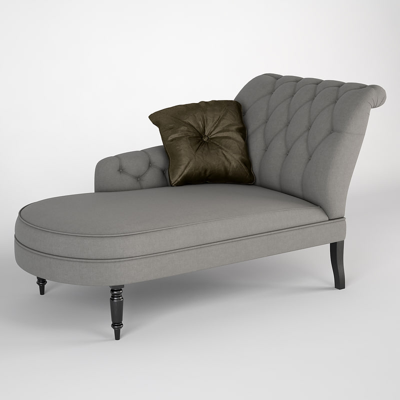 3d model eichholtz chaise