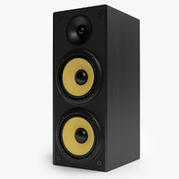 tower speaker 3d max